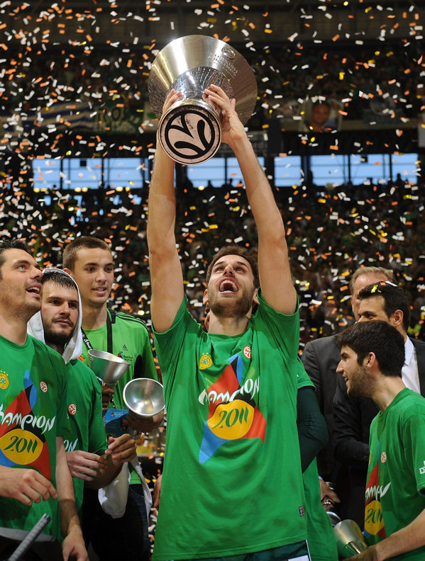 Stratos Perperoglou, Champ! - Panathinaikos - Final Four Barcelona 2011