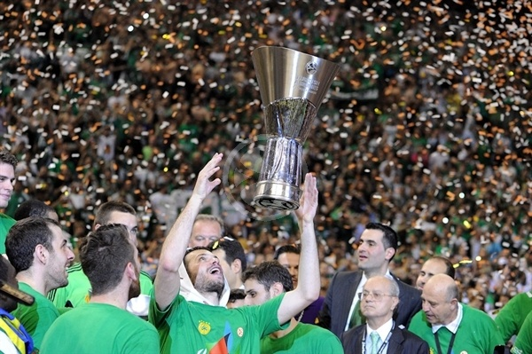 Antonis Fotsis, Champ! - Panathinaikos - Final Four Barcelona 2011