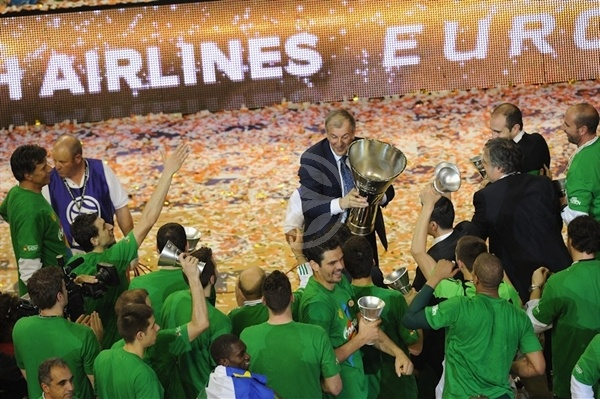 Zeljko Obradovic, Champ! - Panathinaikos - Final Four Barcelona 2011