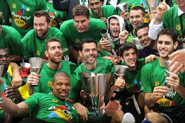Panathinaikos Champ! - Final Four Barcelona 2011