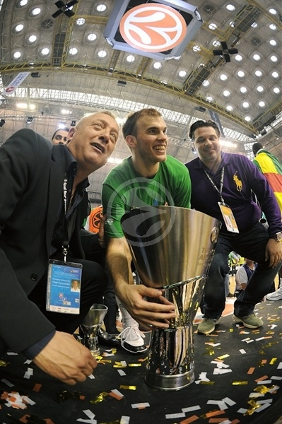 Nick Calathes, Champ! - Panathinaikos - Final Four Barcelona 2011