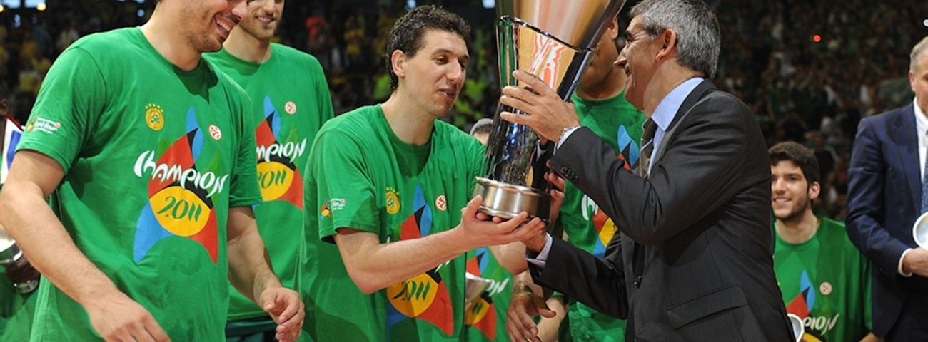 Dimitris Diamantidis, chosen Sportingbet MVP of the Turkish Airlines Euroleague Final Four