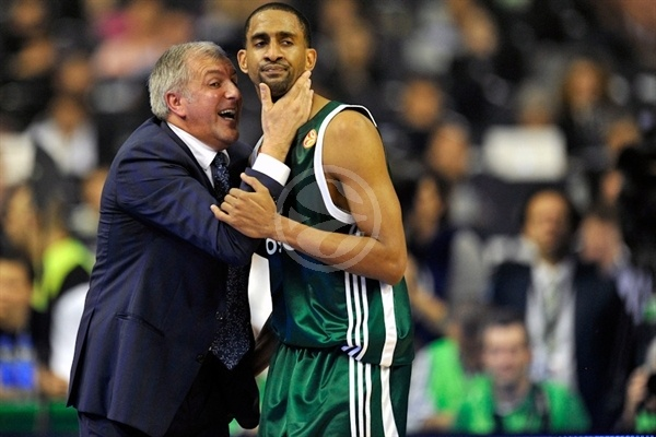 Drew Nicholas - Panathinaikos - Final Four Barcelona 2011
