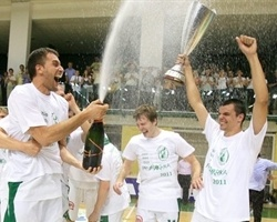 Krka Novo Mesto – 2011 Slovenian League champion (Photo union.olimpija.com)