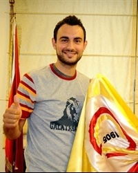 Ender Arslan signs with Galatasaray Café Crown (Photo: galatasaray.org)