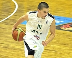 Edvinas Seskus – Lithuania (Photo: FIBA Europe/Vaclav Mudra)