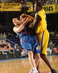 Joe Ingles - FC Barcelona Regal and Oliver Lafayette - Asseco Prokom