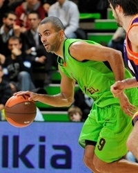 Tony Parker - Asvel Basket (photo Asvel Basket)