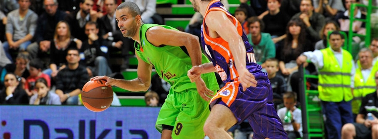 Week 1 MVP: Tony Parker, Asvel Basket