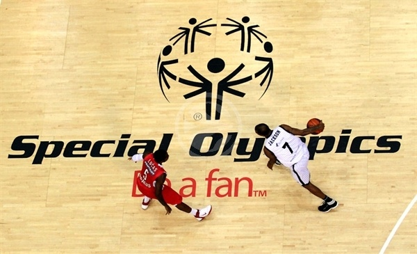 Special Olympics, Be a fan - Olympiacos vs. Gescrap BB