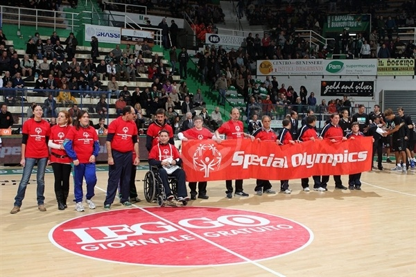 Special Olympics presentation in Siena