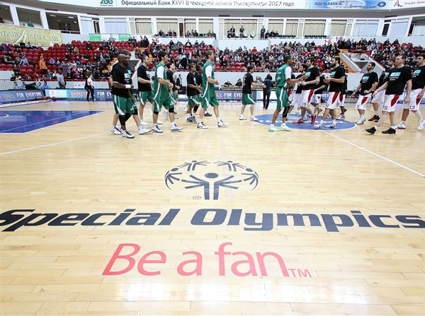 Special Olympics, Be a fan