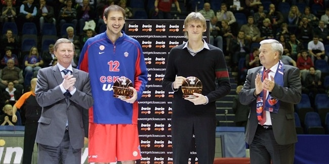 bwin MVP for November: Nenad Krstic, CSKA Moscow