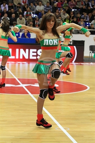 Lokomotiv Kuban cheerleaders