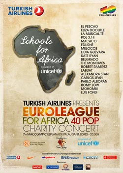 Concert For Africa Poster, 2011