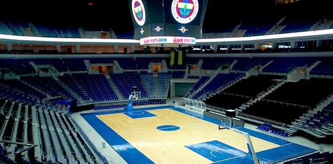 Fenerbahce Ulker's new home, Ulker Sports Arena, opens