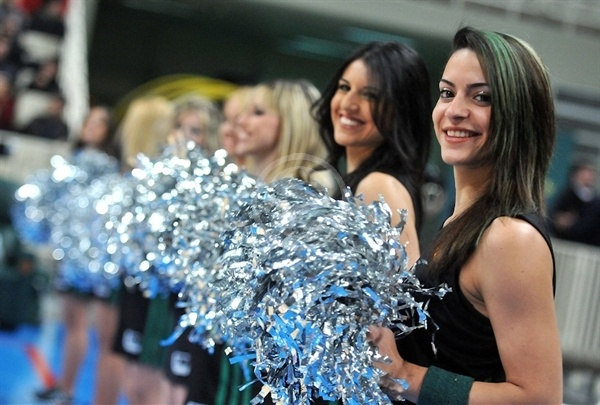 Panathinaikos cheerleaders