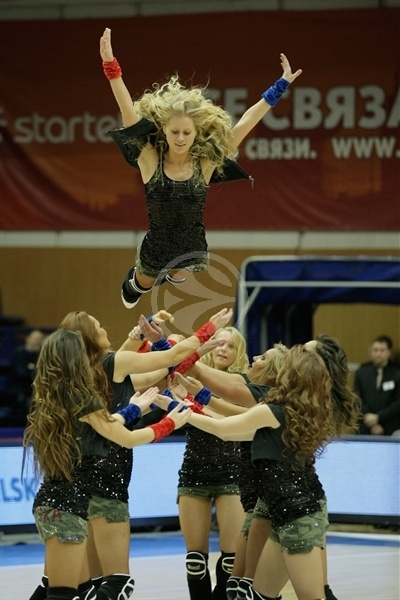 CSKA Moscow cheerleaders