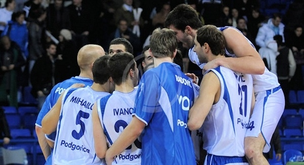 Buducnost Voli celebrates (photo kkbuducnost.me)