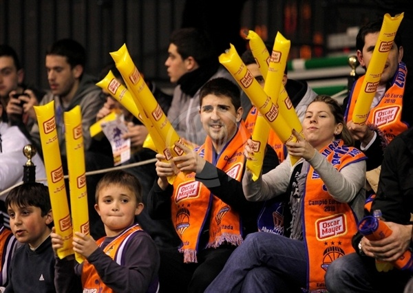 Valencia Basket fans (photo Valencia Basket)