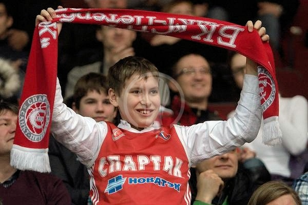 Spartak SPB fans  (photo Spartak St. Petersburg)