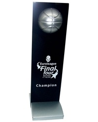 The first new era Euroleague trophy