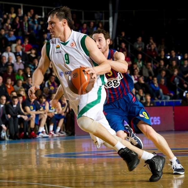 FC Barcelona Regal vs. Unics Kazan - Game