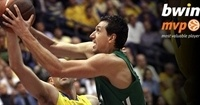 March/April bwin MVP: Dimitris Diamantidis, Panathinaikos Athens