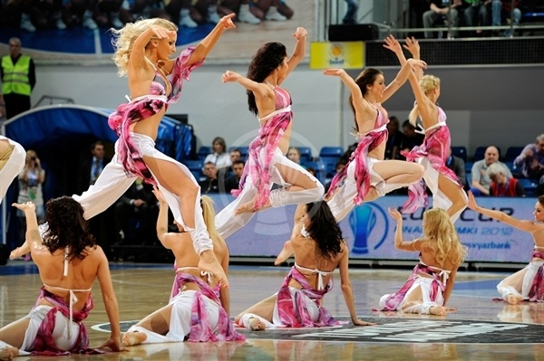 Bc Khimki cheerleaders - Finals Khimki 2012