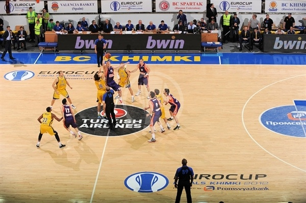 Tip-off Final, BC Khimki vs. Valencia Basket - Finals Khimki 2012