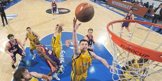 7DAYS EuroCup 100-game clubs: Khimki Moscow Region