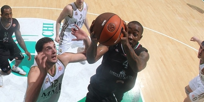 Montepaschi Siena's Bo McCalebb wins Alphonso Ford Top Scorer Trophy