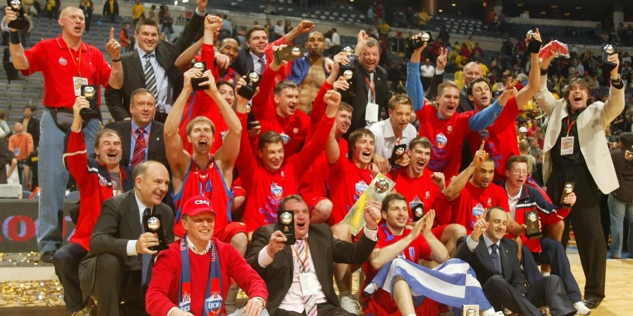 CSKA Moscow takes crown 35 years later!