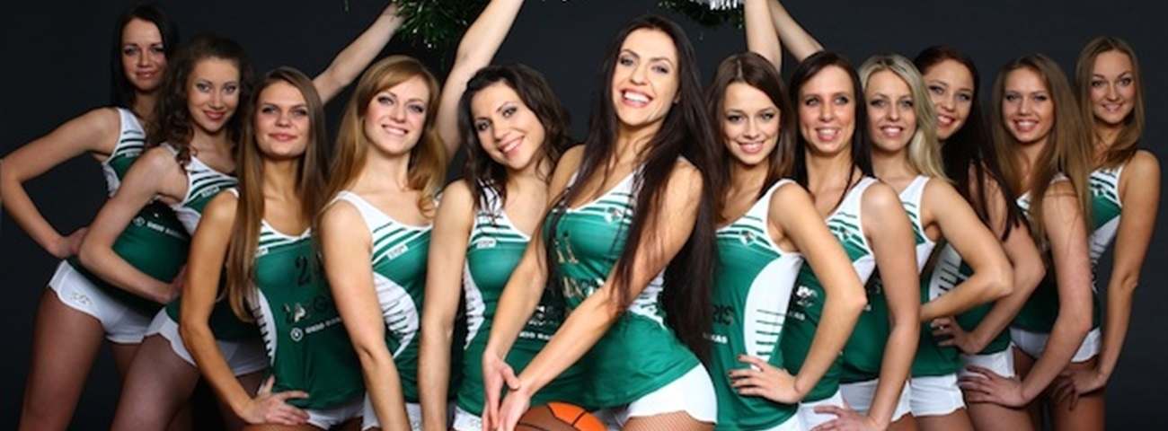 2012 Turkish Airlines Euroleague Final Four official cheerleaders