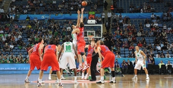 Tip-Off Final Four, CSKA Moscow vs. Panathinaikos - Final Four 2012
