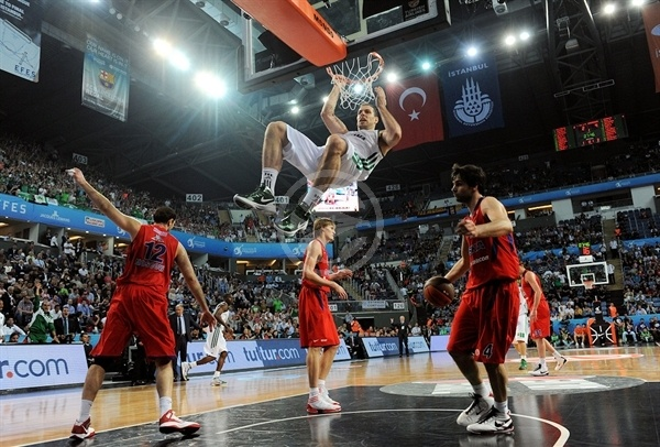 Alex Maric - Panathinaikos - Final Four Istanbul 2012