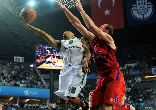 David Logan - Panathinaikos - Final Four Istanbul 2012