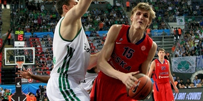 CSKA survives Panathinaikos, advances to final