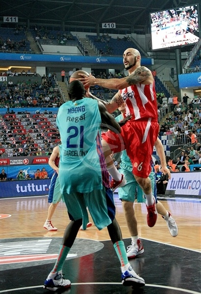 Pero Antic - Olympiacos - Final Four Istanbul 2012