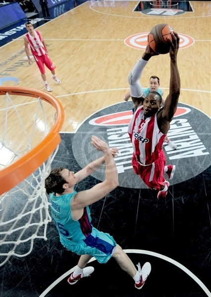 Richard Dorsey - Olympiacos - Final Four Istanbul 2012