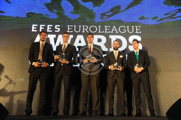 All-Euroleague Team 2011-12 - Final Four Istanbul 2012