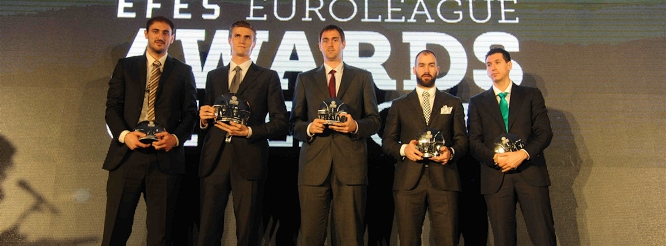 2011-12 All-Euroleague First, Second teams announced