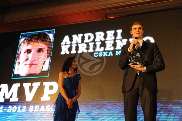 Andrei Kirilenko - MVP Euroleague 2011-12 - Final Four Istanbul 2012