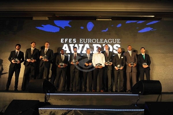 Efes Euroleague Awards - Final Four Istanbul 2012