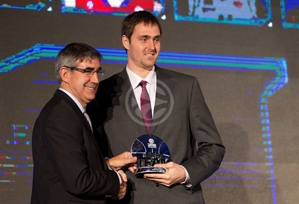 Erazem Lorbek - All-Euroleague first Team - Efes Euroleague Awards - Final Four Istanbul 2012