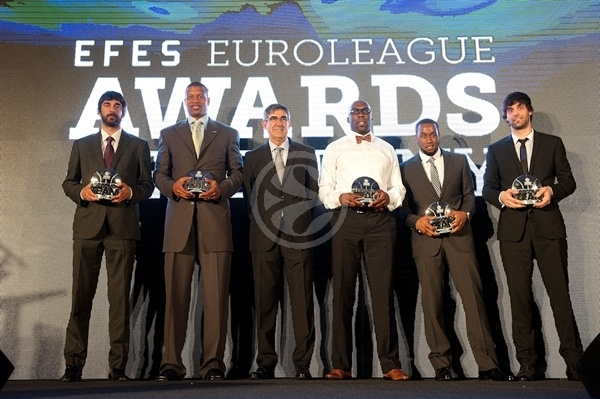 All-Euroleague Second Team - Efes Euroleague Awards - Final Four Istanbul 2012