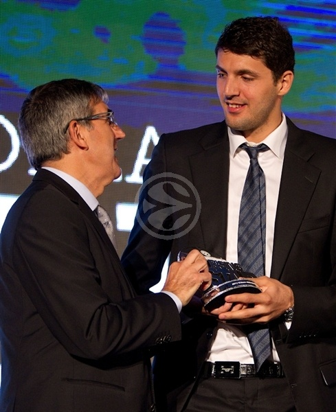 Nikola Mirotic - Rising Star Award - Efes Euroleague Awards - Final Four Istanbul 2012