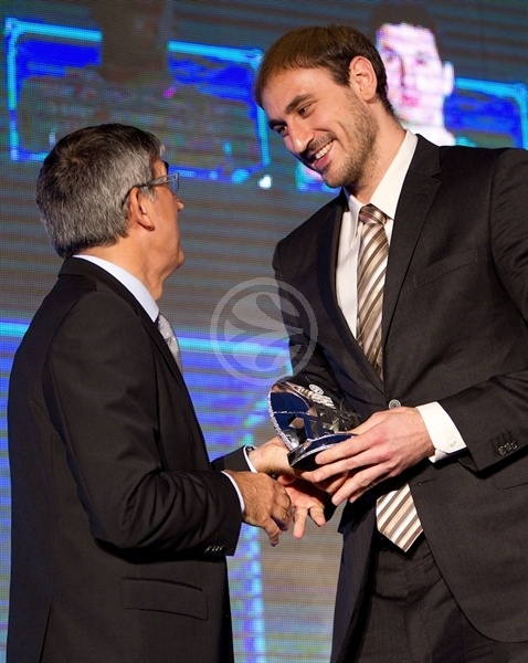 Nenad Krstic - All-Euroleague First Team - Efes Euroleague Awards - Final Four Istanbul 2012