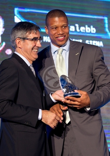 Mike Batiste - All-Euroleague Second Team - Efes Euroleague Awards - Final Four Istanbul 2012