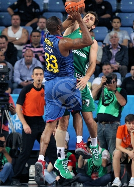 Pete Mickeal - FC Barcelona Regal - Final Four Istanbul 2012